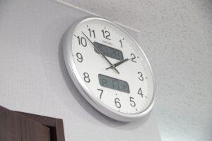 時間 湿度がわかる 時計 ウイルス対策に 南浦和レンタルスタジオ